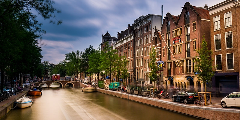 Amsterdam vieta Airbnb