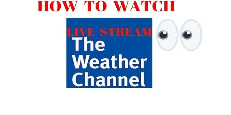 È possibile trasmettere The Weather Channel?