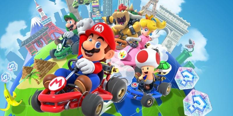 Mario Kart Tour aggiunge le gare a squadre