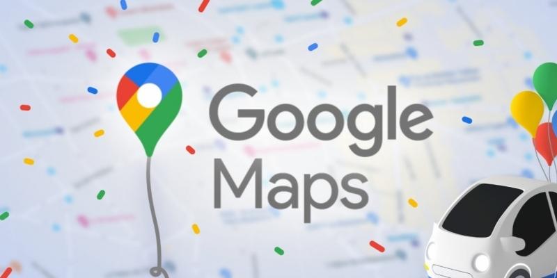 Notizie su Google Maps per la celebrazione del suo 15° compleanno