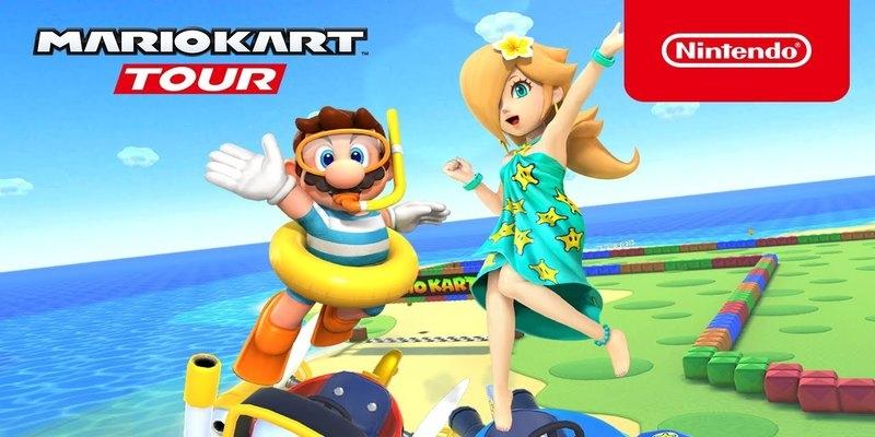 Estate in Mario Kart Tour