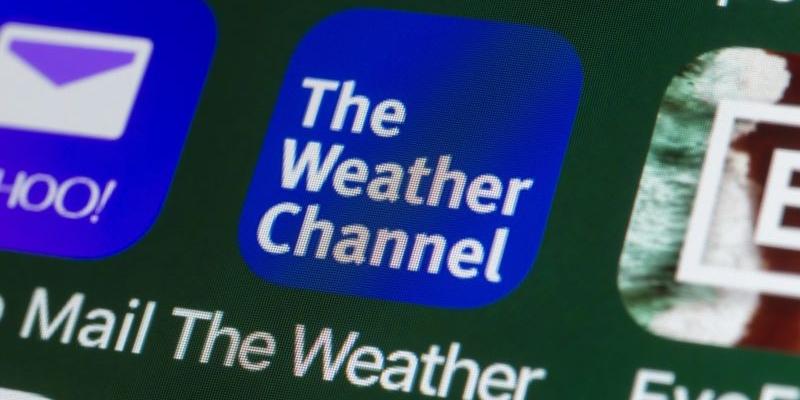 The Weather Channel tra le migliori app mobili